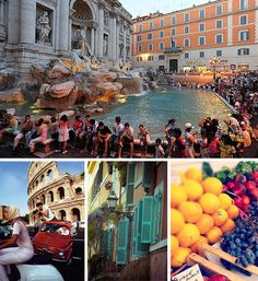 Summer in Rome.  Sure Travel Blog: Travel Inspiration Photos: Summer in Italy