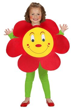 Childs Flower (Puffy Vest) Costume - 1 - 3 Years for sale online Carnival Costumes, Halloween Costumes For Kids, Halloween Diy, Diy Carnival, Children Costumes, Flower Pot Costume, Costume Fleur, Diy For Kids, Crafts For Kids