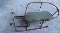 Vintage Antique Sled Sleigh Toy Decorative - Sleighs | eBay