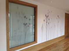 Bespoke wallcovering and window film at Sedgemoor Demetia Support Centre