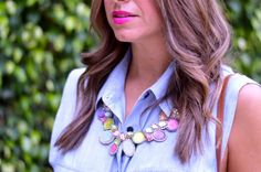 Adore this statement necklace.