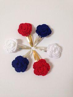 Crochet Rose slides 100% cotton £3 per pair