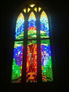 the most beautiful stained glass window