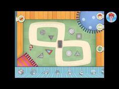 Wat leert je kind van deze educatieve app? Geometrische vormen tekenen. Een potlood, liniaal, passer en geodriehoek gebruiken. Levensechte voorwerpen maken van de geometrische vormen.