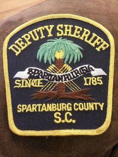 SPARTANBURG COUNTY DEPUTY SHERIFF POLICE PATCH SOUTH CAROLINA SC - www.policemag.com