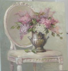 I just love Christies beautiful artwork!!  I never tire of seeing it!  Thanks Christie for sharing!    (French Lilacs 2012  by Christie Repasy)