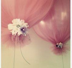 Ideia diferente para decorar os balões