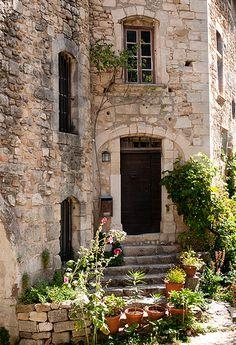 Oppède Le Vieux, Vaucluse, Luberon, Provence, .France