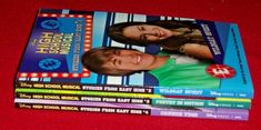 3 Chapter Books High School Musical Stories From East High #2 3 4