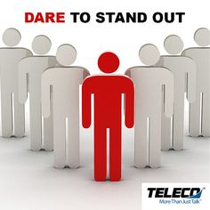 Don't be afraid to stand out from the crowd. Dare to be different. It's the ones who stand out that are noticed. Brand your company in such a way that it will be noticed and most importantly.... REMEMBERED! #BusinessTelephonesAugusta