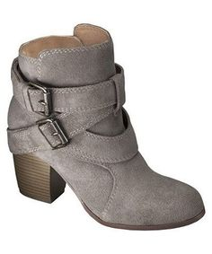 Jessica Suede Strappy Boot