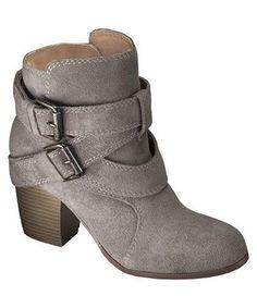 Jessica Suede Strappy Boot