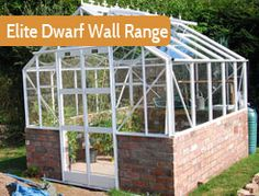 The attractive, unique style Dwarf Wall is a popular choice when the customer requires an eaves height of which part is brickwork, and the remainder is glass and aluminium.