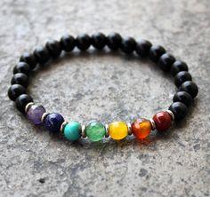 Black Chakra Bracelet