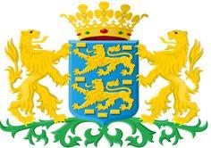 Friesland wapen. Frisia, es una de las doce provincias que conforman el Reino de los Países Bajos. Al igual que las demás provincias, está gobernada por un comisario designado por el monarca y una cámara legislativa elegida mediante sufragio universal. Las lenguas oficiales son el neerlandés y el frisón. Sin embargo, algunos frisones hablan dialectos del bajo sajón. La capital es Leeuwarden. .Limita con las provincias de Groninga, Drente, Overijssel y Flevolanda y con el mar de Frisia.