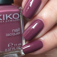 swatch KIKO 317 Dark Antique Pink