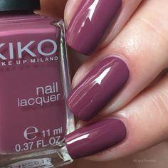 swatch KIKO 317 Dark Antique Pink