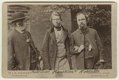 Image from http://upload.wikimedia.org/wikipedia/commons/c/ce/William_Bell_Scott%3B_John_Ruskin%3B_Dante_Gabriel_Rossetti_by_William_Downey.jpg.