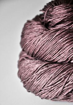 Withered red orchid OOAK Silk Yarn Fingering weight by DyeForYarn, €23.50