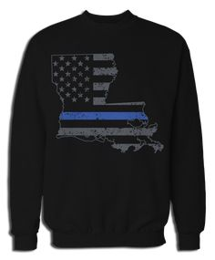 Police Tshirt Blue Lives Matter Bold Support Police Cops T-Shirt Gift for Men Women
