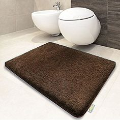 Tappeto da bagno moderno casa pura® linea Luxury Sky Jill | Beige ...