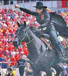 Masked Rider @ Texas Tech