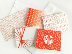 Click through for deets on how to get three free cards from Modern Marianne by participating in The Paper Chronicle's Letter-Writing Campaign!