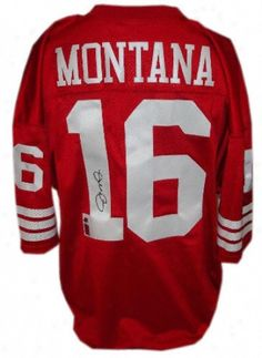 Joe Montana signed SF jersey - Wish I had one of these!