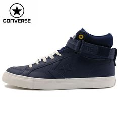 converse star player lo pro navy/yellow leather trainers