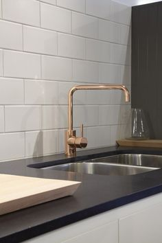 Copper finish kitchen mixer Astra Walker - would look amazing in the right kitchen