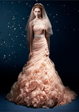 Wedding Dresses | Bridal Gowns | KittyChen Couture - Charlotte Front side of the White one (clearly i wouldnt do rose)