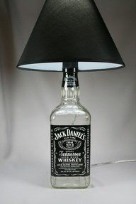 Jack Daniels Lamp, Hand Made Jack Daniels lamp, Perfect for your home, dorm room, man cave, or bar/pub. by Big City Warehouse, THE MAN CAVE.If you wish to buy just click on amazon below this Pinterest Pin. http://www.amazon.com/gp/product/B00AQ8FSZS?ie=UTF8=213733=393177=B00AQ8FSZS=shr=abacusonlines-20&=hi=1367206701=1-50=man+cave