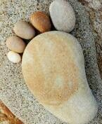 Rock art foot