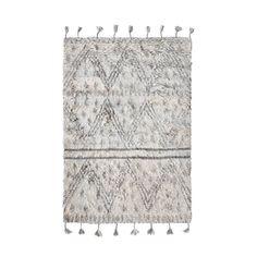 Dit vloerkleed is van het merk HKliving en heeft leuke franjes aan het kleed. Het kleed is gemaakt van wol en heeft een vintage dessin. Het kleed is
