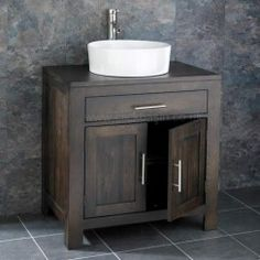 vanity basin units for bathroom. Clickbasin Ohio Solid Wenge Oak Wide Double Door Bathroom Vanity Unit With  Trieste Basin Rectangular with Space Saving 50cm wide by 29cm