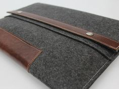 Your tech-a-holic will love this chic yet manly iPad case, in charcoal wool and brown leather. (It fits the iPad with smart cover, and you can also get it for other devices like the Kindle, Nook, Zoom, Playbook, etc.).iPad Case, $54, Etsy.com Etsy.com -Cosmopolitan.com