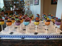 graduation cake pops | Pre-school Graduation Cake Pops | Flickr - Photo Sharing!