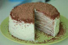 Блинный торт 'Птичье молоко'
