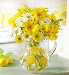 Décorer un vase avec oranges et citrons! 20 idées pour vous inspirer…