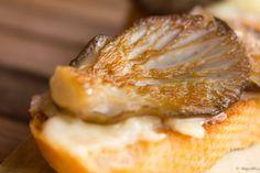 Miel o Limón: Tapa de setas de cardo con alioli http://mielolimon.blogspot.com.es/2014/01/tapa-de-setas-de-cardo-con-alioli.html
