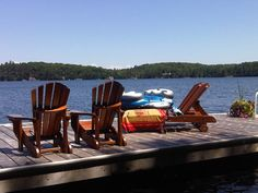 An Unforgettable Cottage Vacation Awaits with Muskoka Cottages by Marlene Muskoka Cottages, Private Bay, White Pines, Home And Away, Joseph, Deck, Vacation, Adventure, Luxury