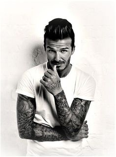 david beckham, tattoo ideas for men, inked men, tattooed men, inked guys, tattoo…