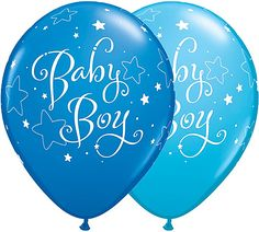 Baby Boy Elephant Balloons Boy Baby Shower Elephant Theme Decorations Its a Boy Elephant Balloons Mylar Foil and Latex New Baby Boy Decor