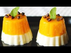 Your favorite summer food in an Italian dessert! Mango panna cotta is well known because of its sweet and unique taste. Now this quick and easy mango panna cotta recipe will yield a delicious taste… Mango Dessert Recipes, Refreshing Desserts, Great Desserts, Delicious Desserts, Snack Recipes, Yummy Food, Layered Desserts, Desert Recipes, Snacks
