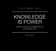 Day 2: Knowledge Is Power