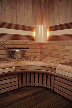 A sauna's a modern convenience more people are adding to their homes Portable Steam Sauna, Sauna Steam Room, Sauna Room, Saunas, Home Spa, At Home Gym, Sauna Design, Finnish Sauna, Relax