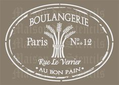 several great french stencils here!