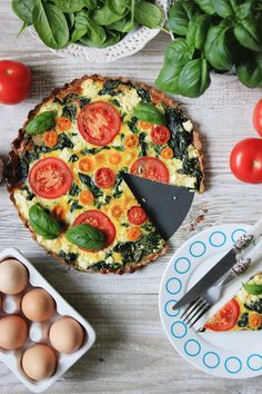 Frittata, Deli, Vegetable Pizza, Hamburger, Recipies, Good Food, Food And Drink, Healthy Eating, Favorite Recipes