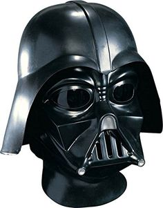 Star Wars Fans! Its Star Wars Darth Vader Deluxe Adult Full Face Mask, Black, One Size. Get it on Amazon: http://amzn.to/2tob1lD