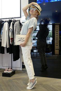 Babie letá: 50+: Karl Lagerfeld v Prahe